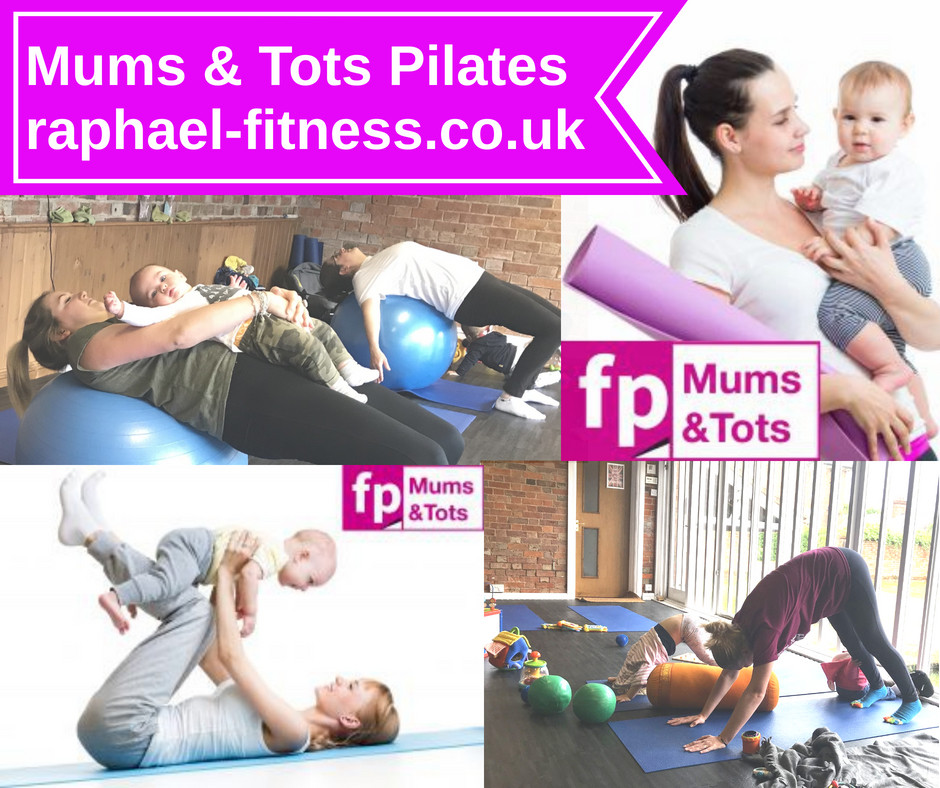 mums and tots pilates poster