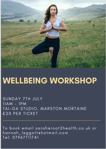 Wellbeing workshop at Marston's Raphael Fitness